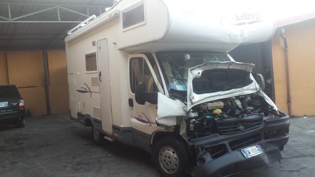 camper usato fiat ducato challenger 123 mansardato in