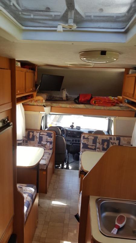 Camper usato rimor europeo 78 7 posti viaggio letto - Camper 7 posti letto ...