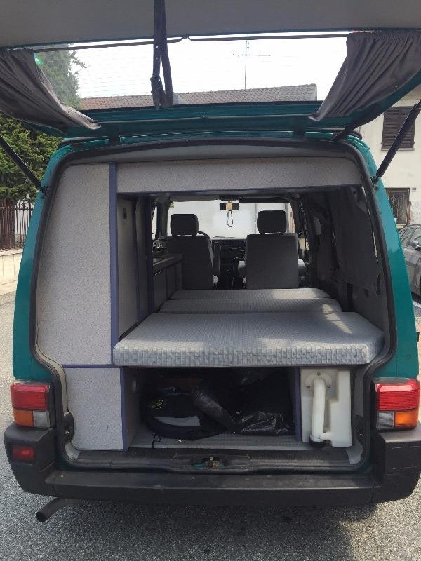 Camper Usato Volkswagen t4 california Camper Puro in Piemonte - Torino