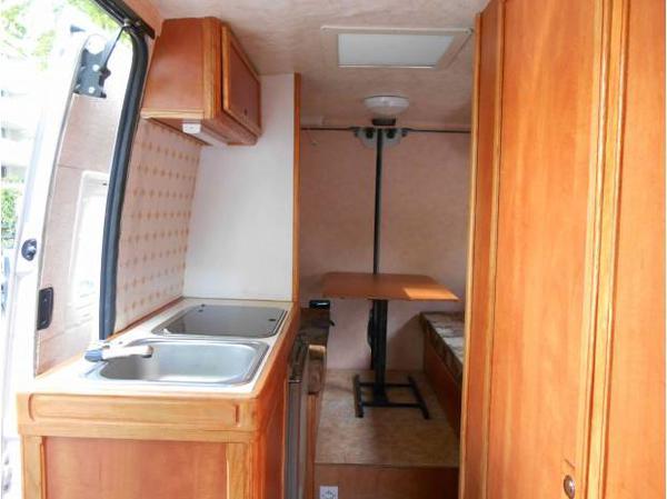 Tri Mix Interior : Camper usato renault vivair master puro in