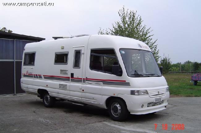 Camper usato esterel manhattan 25ts garage motorhome in for Planimetrie del garage rv