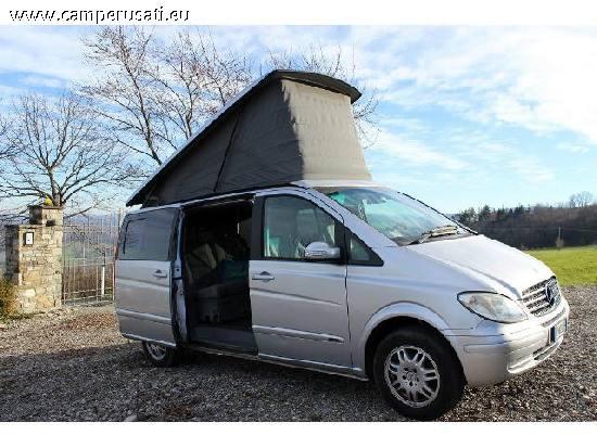 camper usato mercedes viano marco polo camper puro in. Black Bedroom Furniture Sets. Home Design Ideas