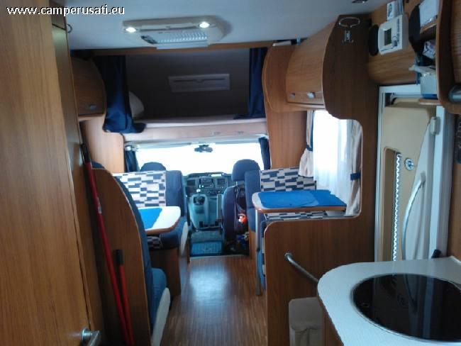 Camper usato rimor 689 tc grande garage grandi lettia for Grandi pavimenti del garage