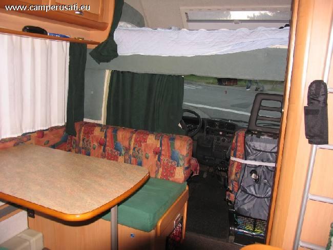 Camper usato elnagh doral 112 garage mansardato in toscana for Cabina principale delta