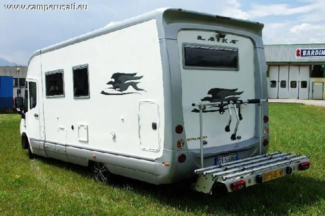 Camper usato laika rexosline 650 motorhome in veneto belluno for Laika camper
