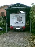 Teli copertura per camper for Tettoia per camper