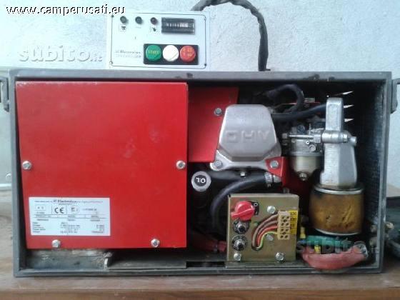 Traveller generatore fisso avv elettrico 2500w for Generatore honda usato