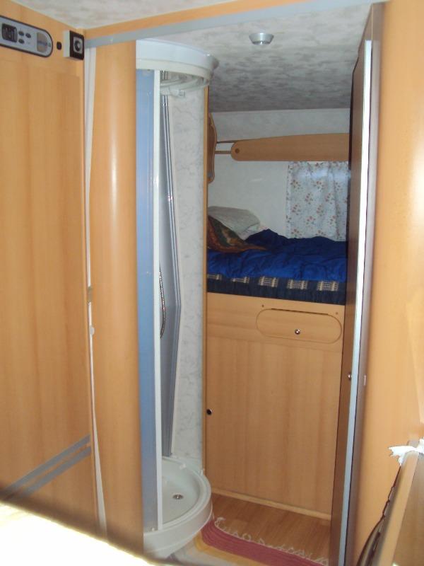 camper usato elnagh super d 112g mansardato in lombardia