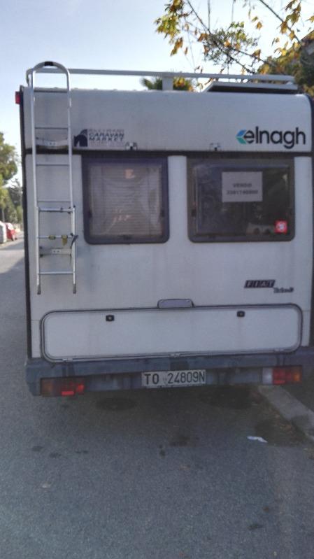 camper usato elnagh clipper 570 mansardato in emilia