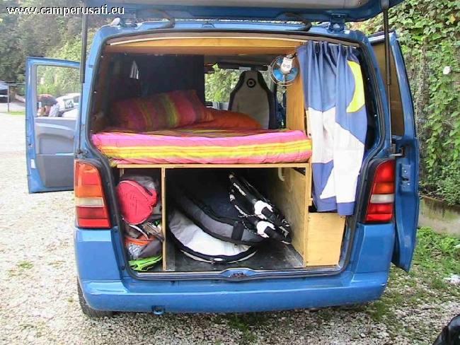 Camper usato mercedes mercedes vito camperizzato altro in for Scaffali per furgoni fai da te