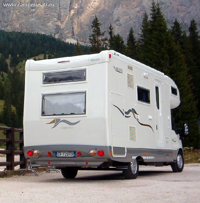 Camper Usato Mobilvetta icaro s12 Mansardato in Veneto ...