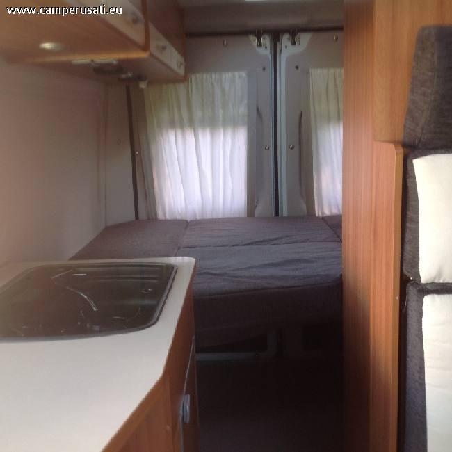 Camper usato weinsberg carabus540 camper puro in emilia for Arredamento usato emilia romagna