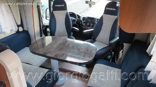 camper Chausson  Welcome 89